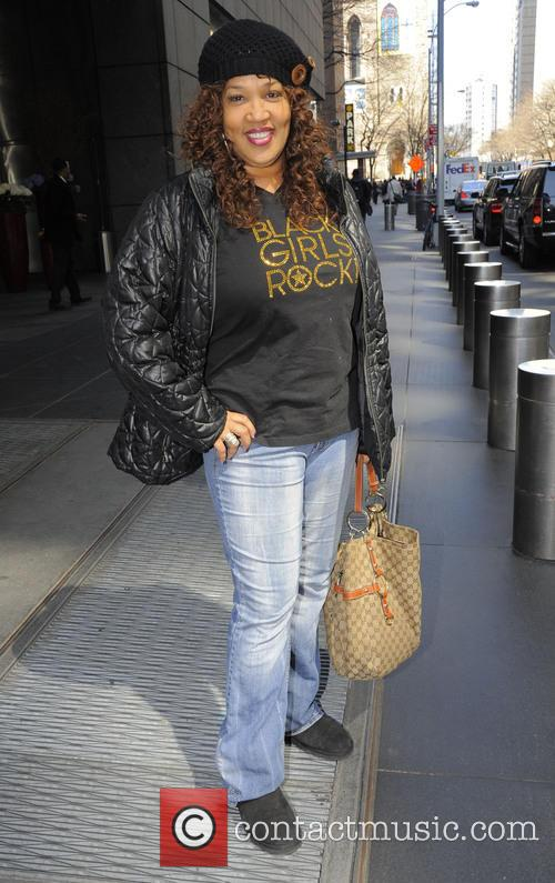 Kym Whitley seen leaving her midtown hotel