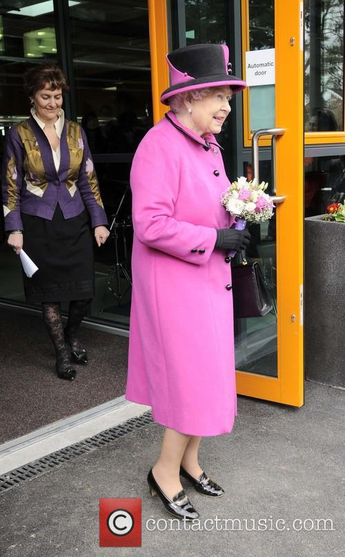 Queen Elizabeth II visits Britwell Community Centre in Slough