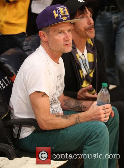 Flea, Anthony Kiedis and Red Hot Chilli Peppers 2