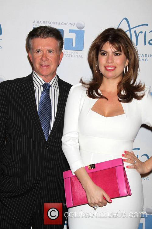 alan thicke tanya callau 12th annual michael jordan 3598175