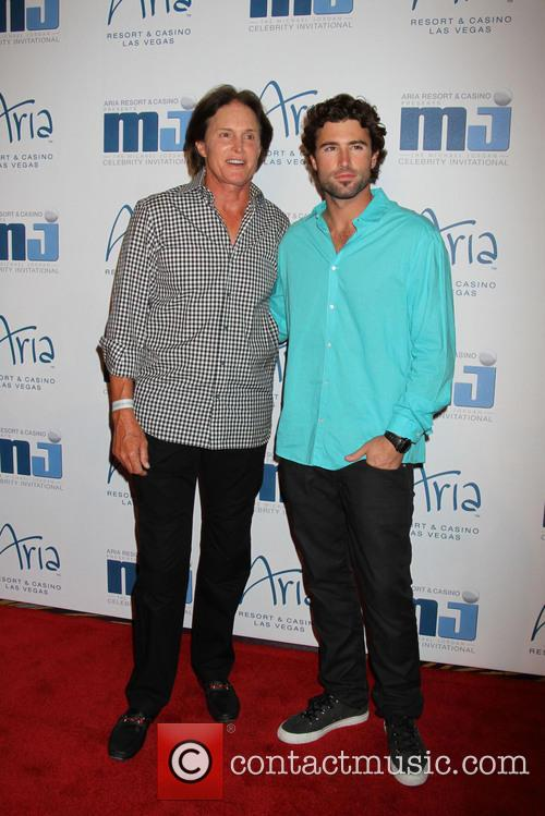 Bruce Jenner and Brody Jenner 1