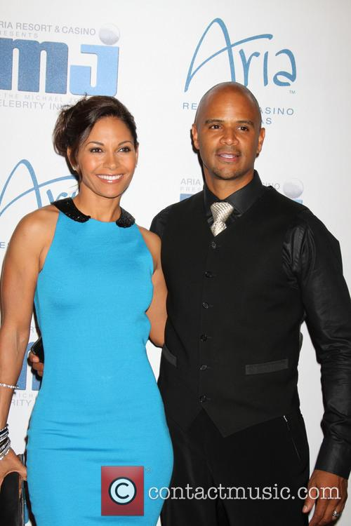 Salli Richardson and Dondre Whitfield 5