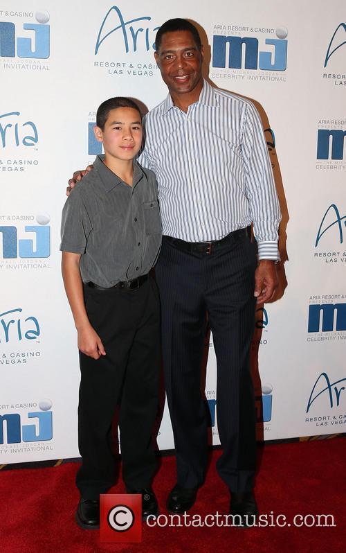 Michael Jordan and Marcus Allen 2