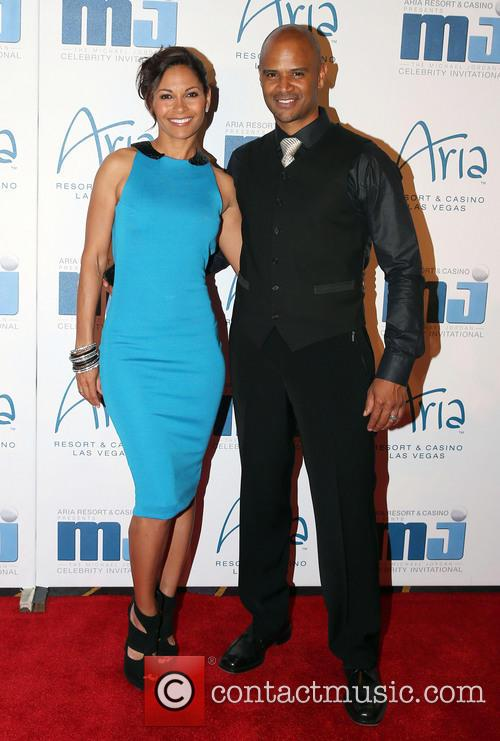 Salli Richardson and Dondre Whitfield 4