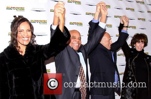 Berry Gordy, Eskedar Gobeze, Doug Morris and Monique Morris 3
