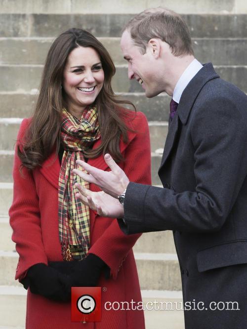 British Royals visit Dumfries House in Ayrshire, Scotland