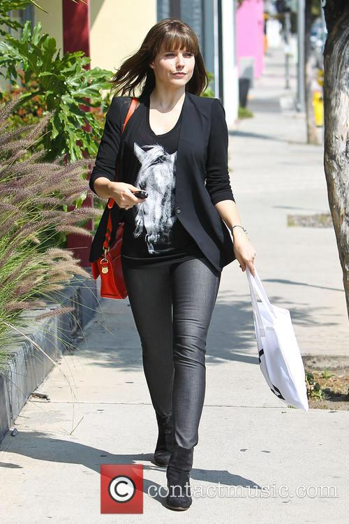 Sophia Bush running errands in West Hollywood