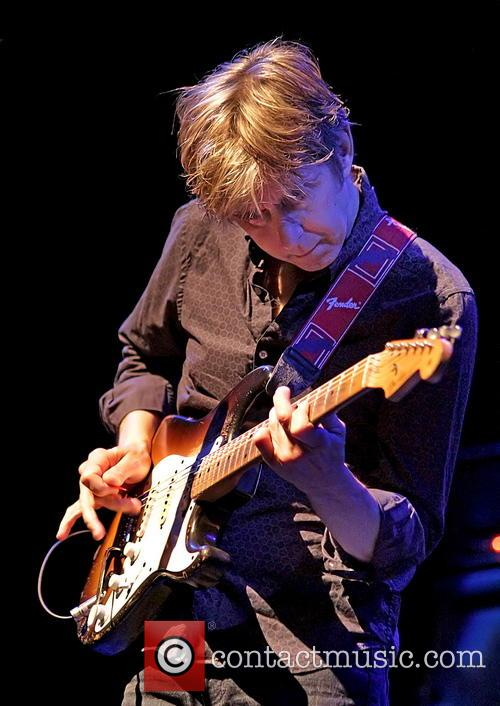 Eric Johnson performs