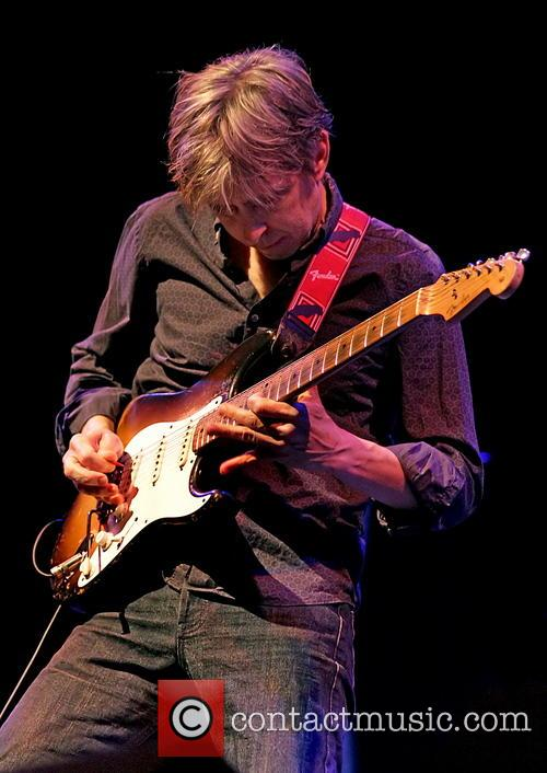 Eric Johnson performs