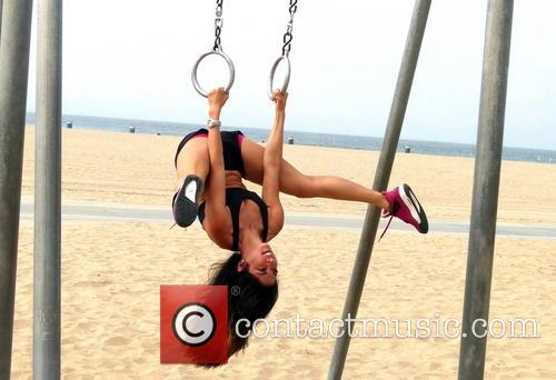 leilani dowding leilani dowding working out at 3589042