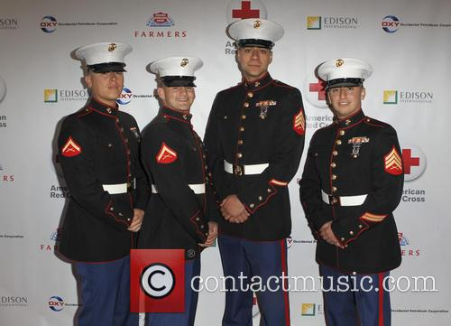 Armed Forces and the cast of 'NCIS' honoured...
