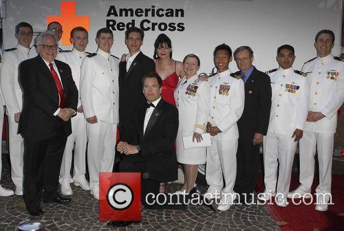 Pauley Perrette, Us Navy, David Mccallum, Brian Dietzen and Michael Weatherly 2