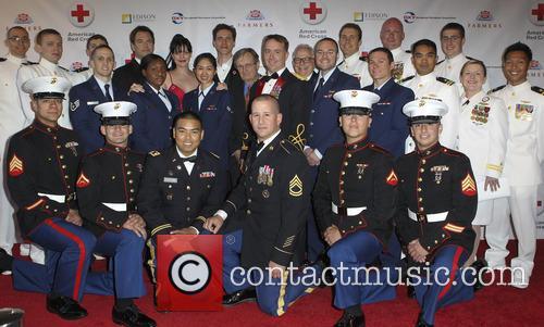 Pauley Perrette, Us Navy, David Mccallum, Brian Dietzen, Michael Weatherly and Us Marines 3
