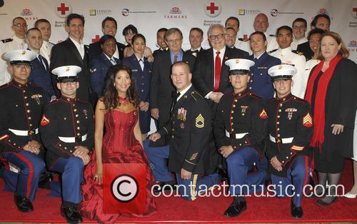 Pauley Perrette, Us Navy, David Mccallum, Brian Dietzen, Michael Weatherly, Us Marines and Christine Devine 8