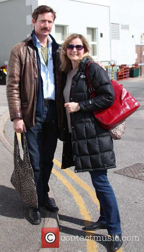 Tom Butcher and Corrinne Wicks out and about...