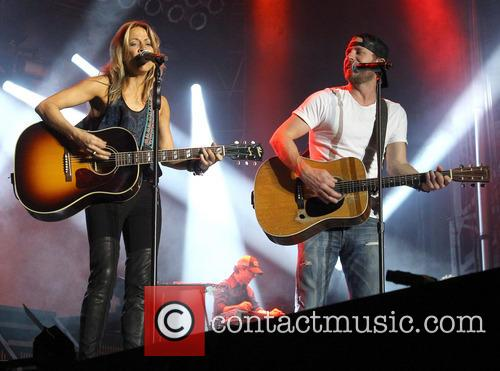 Cheryl Crow and Dierks Bentley 2