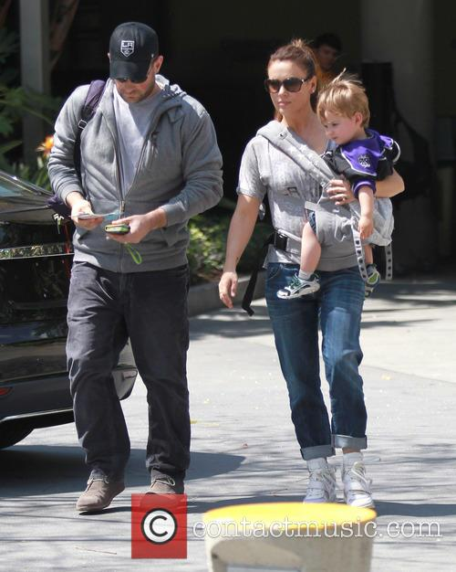 Alyssa Milano, Milo Thomas and David Bugliari 3