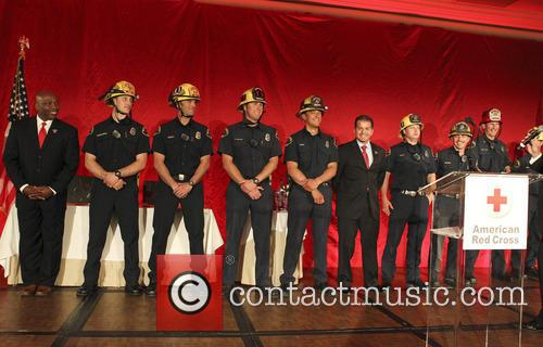 firemen annual red cross red tie affair 3593744