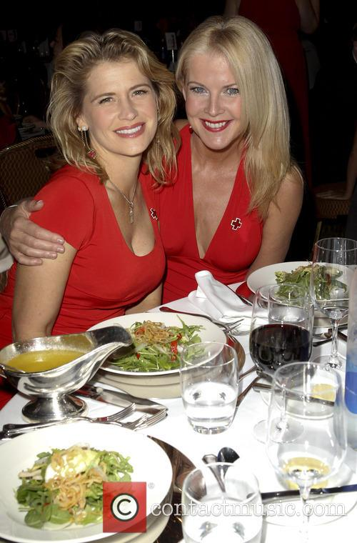 Kristy Swanson and Maeve Quinlan 2