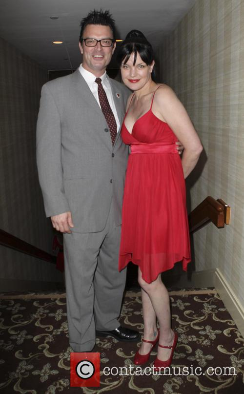 Mark Horowitz and Pauley Perrette 2