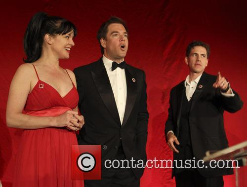Pauley Perrette and Michael Weatherly 2