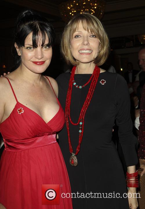 Pauley Perrette and Susan Blakely 4