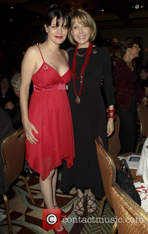 Pauley Perrette and Susan Blakely 5