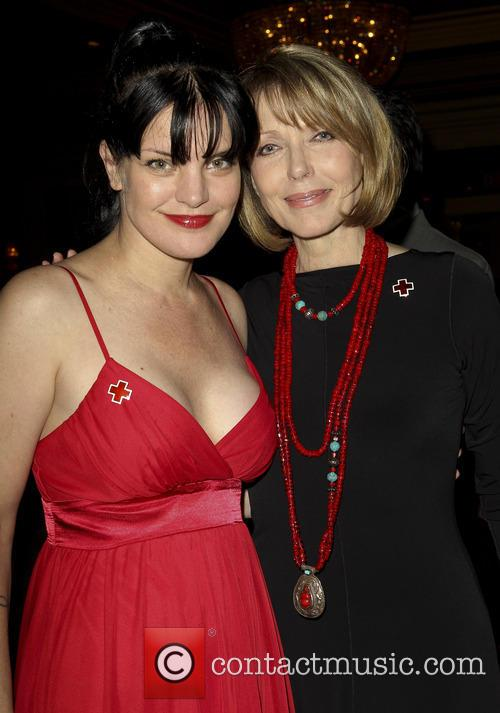 Pauley Perrette and Susan Blakely 1