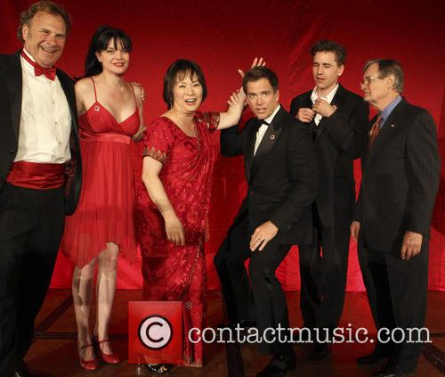 Russ T Nailz, Pauley Perrette, Jo Michael Weatherly, Brian Dietzen, David Mccallum and Josie Tong 8