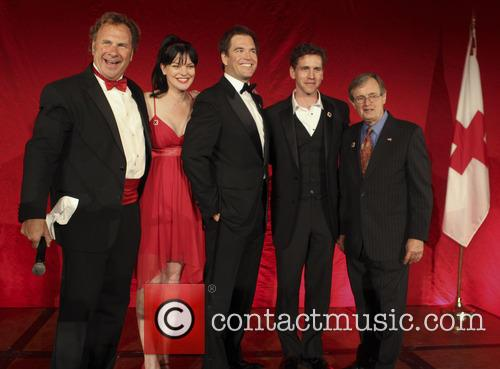 Russ T Nailz, Pauley Perrette, Michael Weatherly, Brian Dietzen and David Mccallum 5