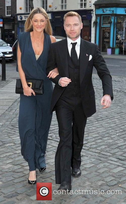 Storm Uechritz and Ronan Keating 5