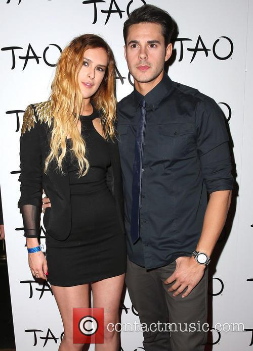Rumer Willis and Jayson Blair 1