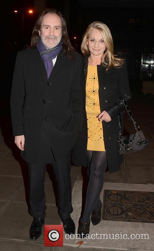 John Waters and Rita Simons