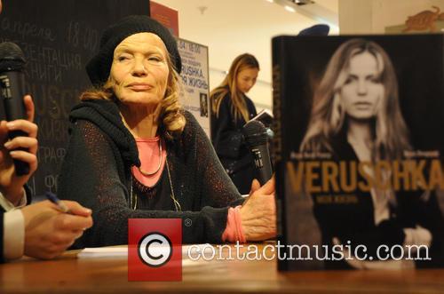 German model Veruschka von Lehndorff presents her book...