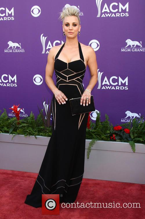 kaley cuoco 48th annual acm awards arrivals 4009091