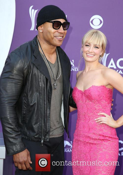 Ll Cool J and Beth Behrs 3