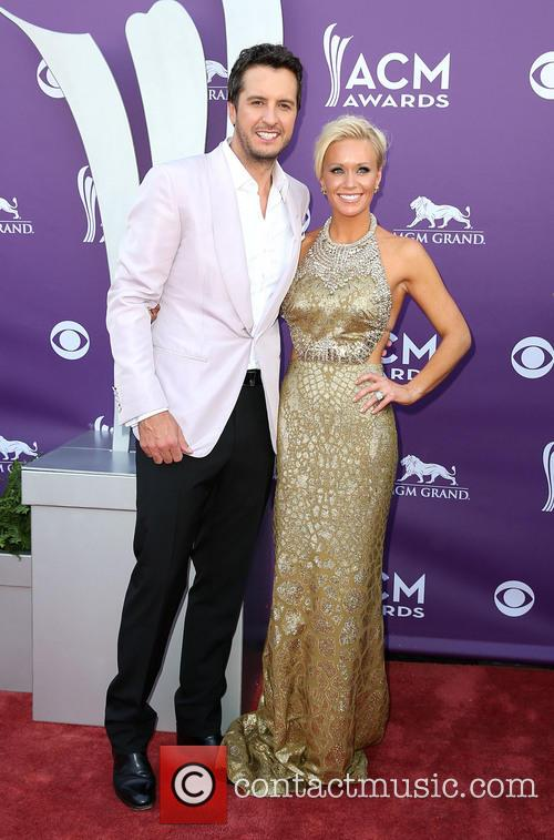 Luke Bryan and Caroline Bryan 3