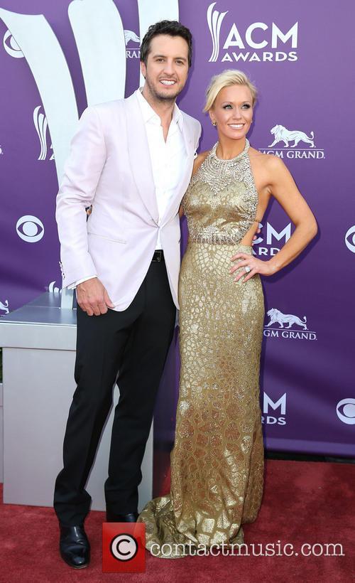 Luke Bryan and Caroline Bryan 4