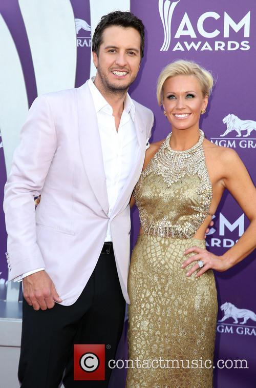 Luke Bryan and Caroline Bryan 5