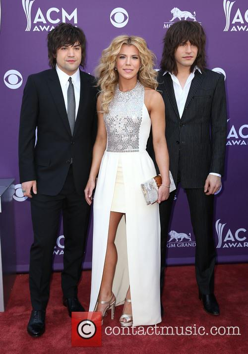 The Band Perry, Reid Perry, Kimberly Perry and Neil Perry 2