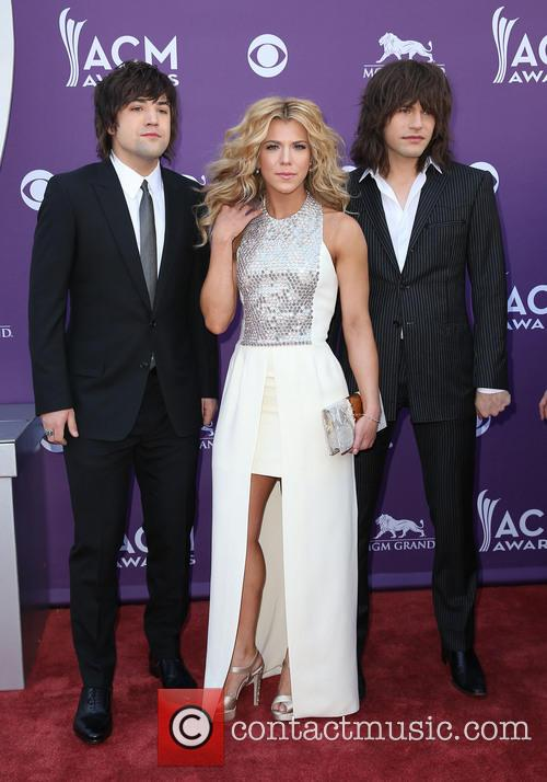 The Band Perry, Reid Perry, Kimberly Perry and Neil Perry 3
