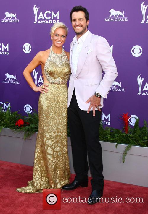 Luke Bryan and Caroline Bryan 7