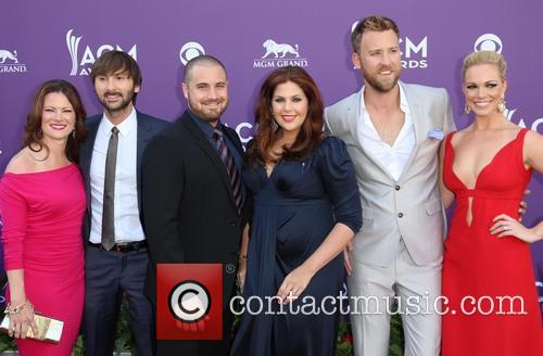 Dave Haywood, Hillary Scott From Lady Antebellum and Charles Kelley 2