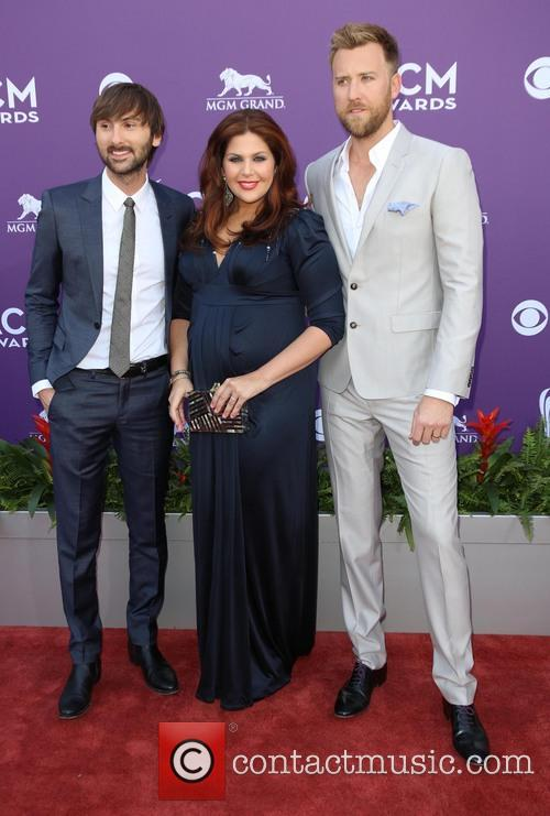 Dave Haywood, Hillary Scott From Lady Antebellum and Charles Kelley 5