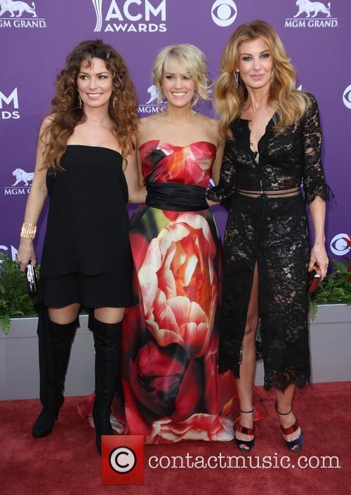 Shania Twain, Carrie Underwood and Faith Hill 3