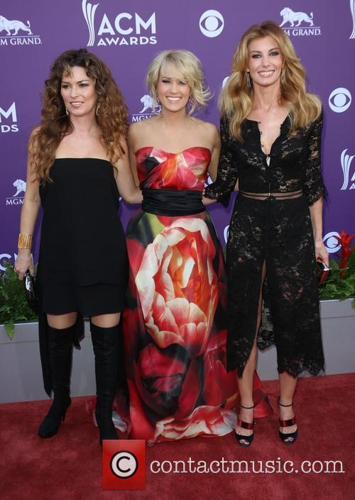 Shania Twain, Carrie Underwood and Faith Hill 4