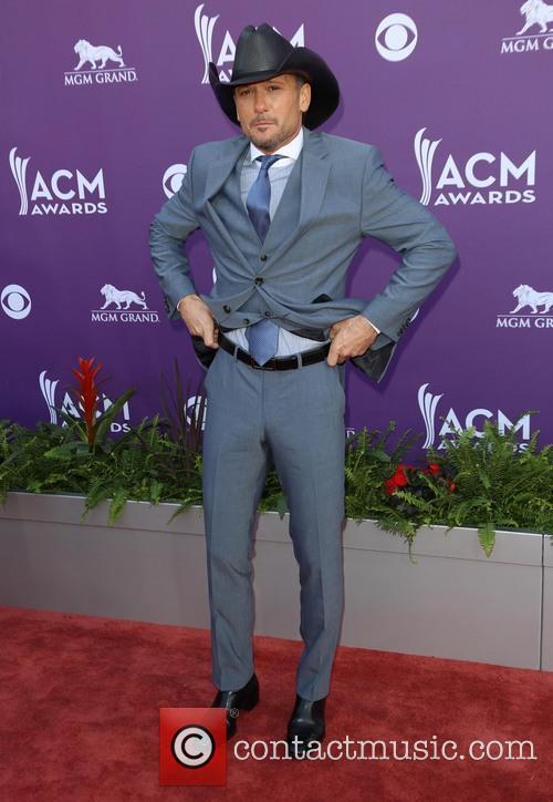 Tim McGraw, ACM Awards