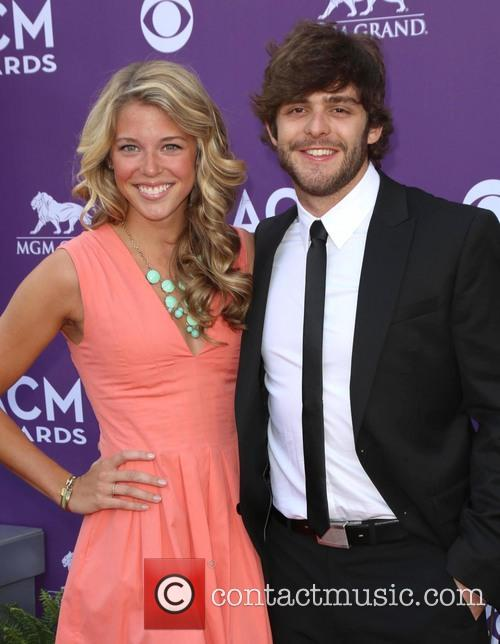 Lauren Akins and Thomas Rhett 1