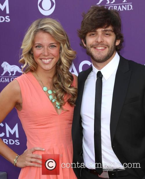 Lauren Akins and Thomas Rhett 2