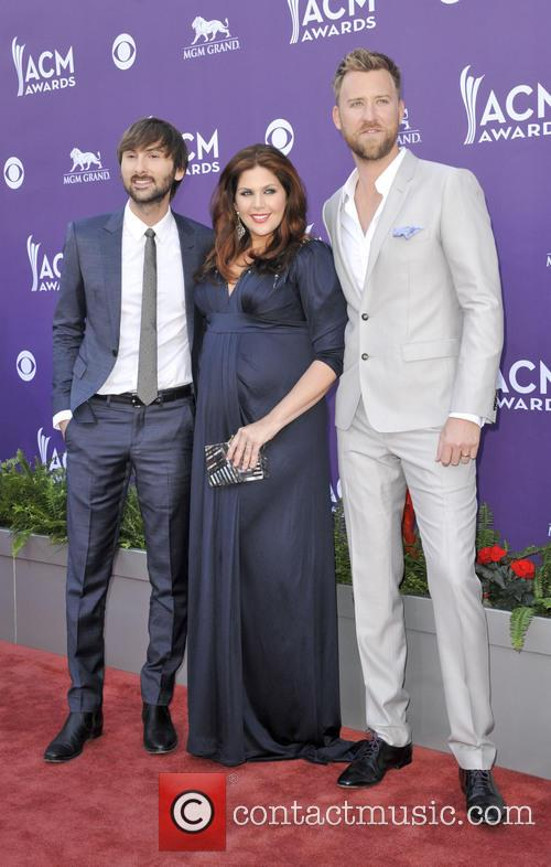 Hillary Scott, Dave Haywood, Charles Kelley and Lady Antebellum 3